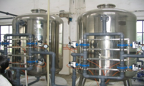 Quartz sand filter-steel or stainless steel